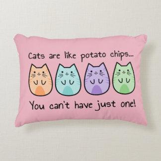 Potato Cats Love Pillow