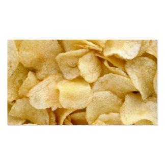 Potato Chip business card