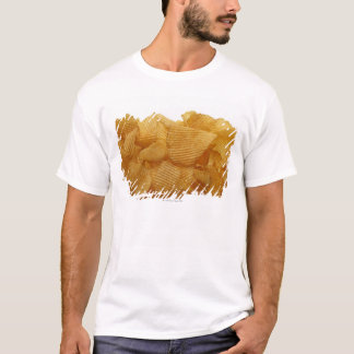 Potato crisps on white background, DFF image T-Shirt