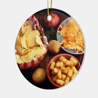 Potato Foods Christmas Ornament