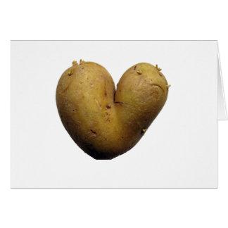 Potato love card