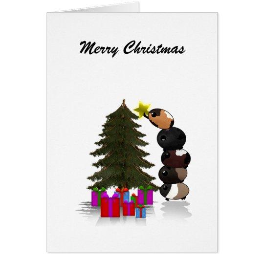 Potato Pigs - Merry Christmas Card