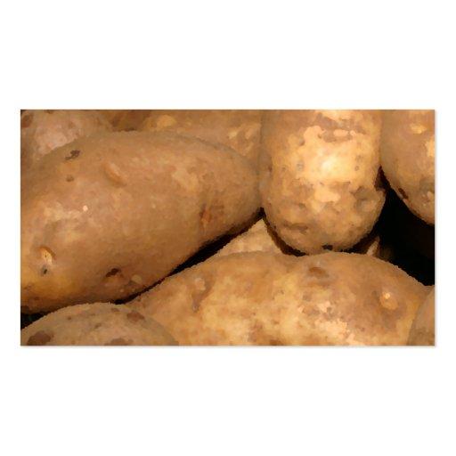 Potato Pile Business Card