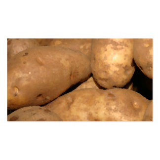 Potato Pile Pack Of Standard Business Cards