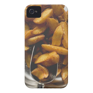 Potato wedges with salt (detail) iPhone 4 cover
