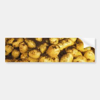 Potatoes at Hakaniemi Market Hall Bumper Sticker