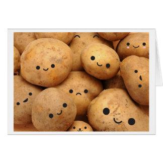 Potatoes Card