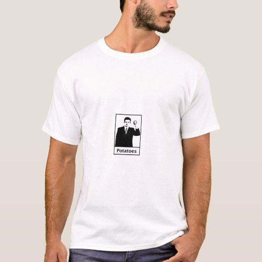 Potatoes Dinner By Chuck T-shirt
