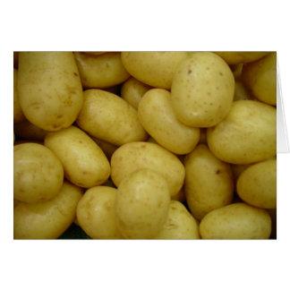 Potatoes Greeting Card