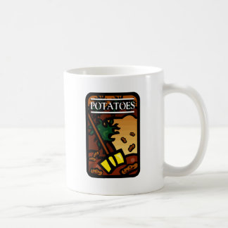 Potatoes Basic White Mug