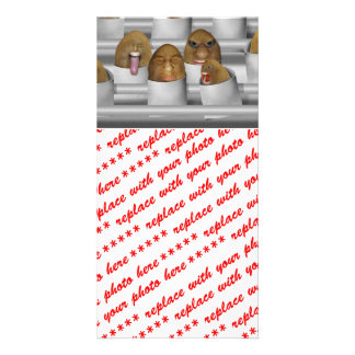 Potatoes On The Line Personalized Photo Card