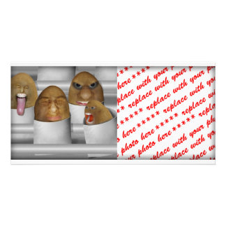 Potatoes On The Line Picture Card