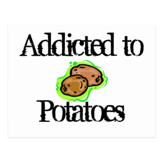 Potatoes Postcard