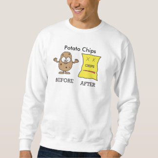 Potato's life sweatshirt