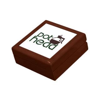 Pothead Small Square Gift Box