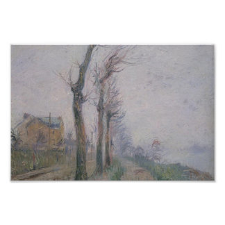 Pothius Quay at the Oie River by Gustave Loiseau Poster