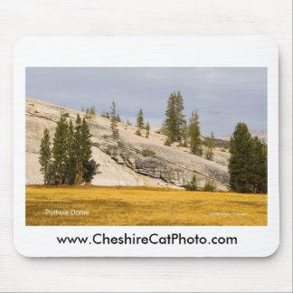 Pothole Dome Yosemite California Products Mousepad