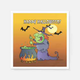 Potion In Motion Halloween Party Paper Napkins