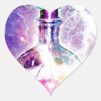 POTION No 9.jpg Heart Sticker