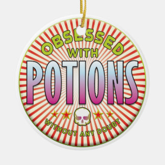 Potions Obsessed R Christmas Ornament