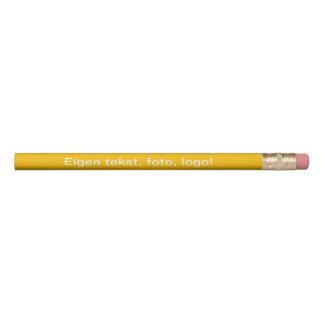 Potlood uni Geel Pencil