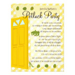 Potluck Party Personalised Invites