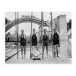 Potomac Boat Club Crew, 1921 Post Card