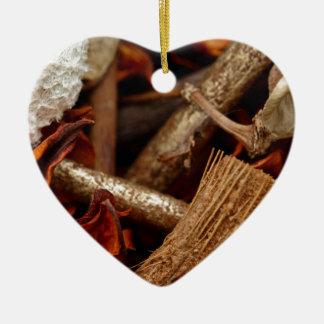Potpourri Ceramic Heart Decoration