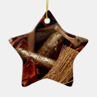 Potpourri Ceramic Star Decoration
