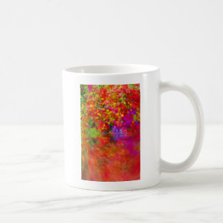 Potpourri Reflection flowers with reflections Coffee Mug