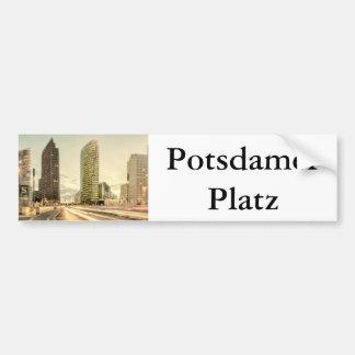 Potsdamer Platz in Berlin, Germany Bumper Sticker