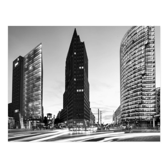 Potsdamer Platz in Berlin Postcard