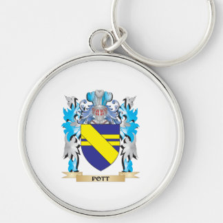 Pott Coat of Arms - Family Crest Key Chains