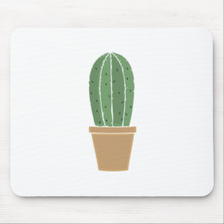 Potted Cactus Mousepads