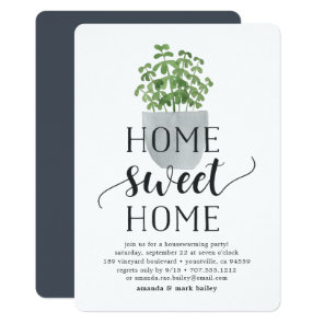 Potted Plant | Housewarming Party Invitation