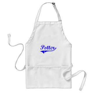 Potter Surname Classic Style Aprons