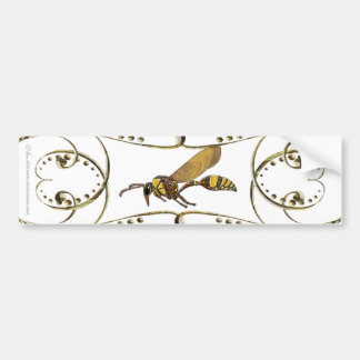 Potter Wasp Bumper Stickers