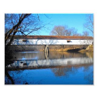 Potter's Covered Bridge Art Photo