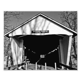 Potters Covered Bridge Photograph