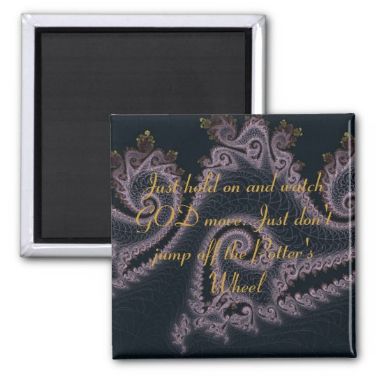 Potter's Wheel Inspirational Scipture Quotes Magnet