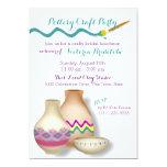 Pottery Bridal Luncheon 5x7 Paper Invitation Card