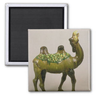 Pottery Chinese wailing camel Magnet