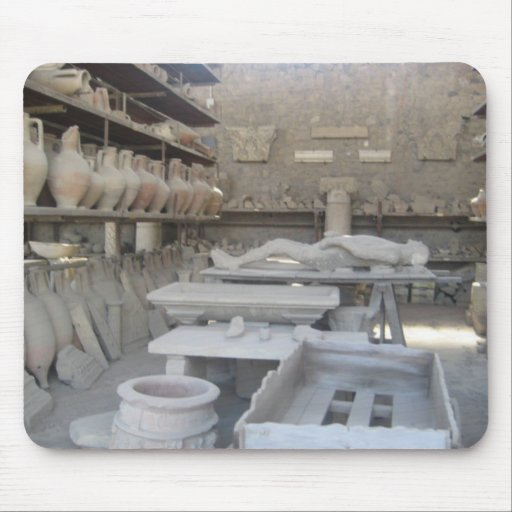 Pottery Room in Pompeii Mouse Pads