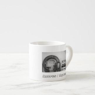 Pottery still life espresso mug