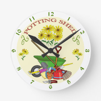 Potting Shed Clock