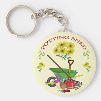 Potting Shed key ring