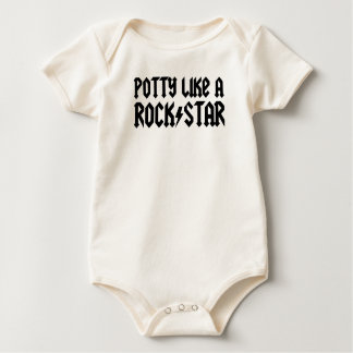 Potty Like A Rock Star Bodysuit