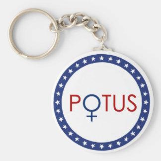 POTUS Hillary Clinton 2016 Keychain