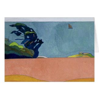 Pouldu Landscape, c.1892 Card