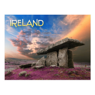 Poulnabrone dolmen, County Clare, Ireland Postcard